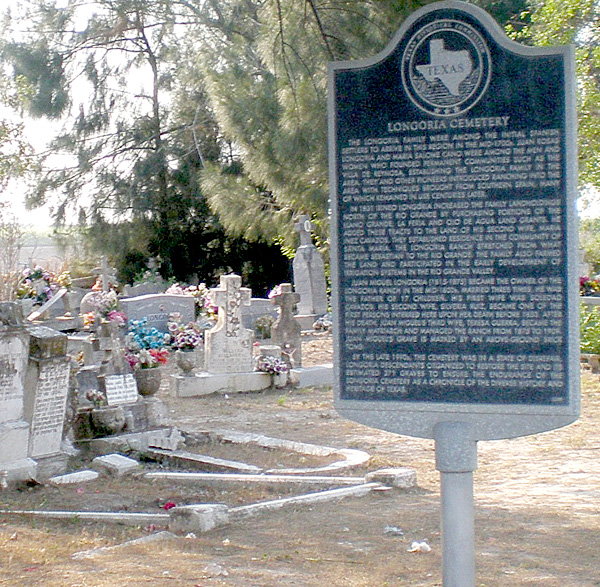 The Longoria family was one of the first settlers to move to this area in the mid-1700's. Although they settled in Santa Maria and are buried in Bluetown, their story is one that is directly related not only to La Feria's history but the history of the Rio Grande Valley.