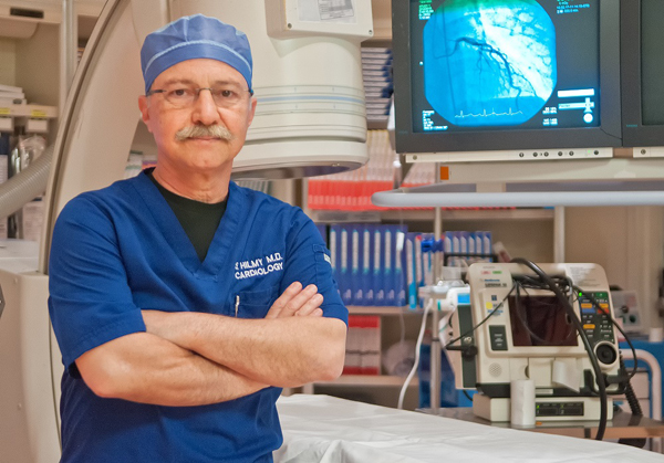 Dr. Shereef M. Hilmy, Cardiologist, serves as Medical Director for the Cardiac Catheterization Laboratory and Cardiology at Harlingen Medical Center.