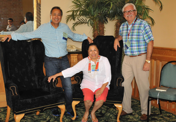 A 25th Annual Rio Grande Valley Medical Education Conference & Exposition will be held April 28-29 at the Isla Grande Resort on South Padre Island. Helping to plan the conference, from the left, are Dr. Dionisio Calvo III, MD, CDE, Internal Medicine Physician in Weslaco; Mitty Reyna of the Knapp Medical Center Education Department; and Dr. Robert Sepulveda, Internal Medicine Physician in Weslaco and conference chairman.