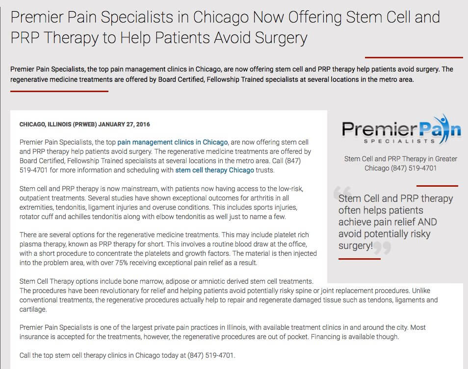 Premier_Pain_Specialists_in_Chicago_Now_Offering_Stem_Cell_and_PRP_Therapy_to_Help_Patients_Avoid_Surgery