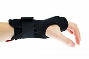 Carpal tunnel wrist bracing