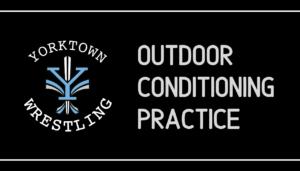 Outdoor Conditioning Practice @ Yorktown High School