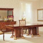 OP-710-3-R  DINING TABLE** (ONE PEDESTAL) 70.5*38.5*29.9 OP-710-3-R  DINING TABLE** (ONE PEDESTAL) 70.5*38.5*29.9+18.1/leaf OP-710-2-R  DINING TABLE** 94.4*46.5*29.9 OP-710-1-R  DINING TABLE** 110.6*50.3*29.9 COLOUR:ALGUM OP-710-4-R DINING TABLE** 94.4*50.3*30+16+16/leaf