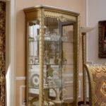 E16- 2 Door Showcase 45.2Wx21.6Dx81.8H E16-4 Door Showcase 84.2Wx26.7Dx81.8H