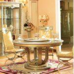 E16-Round Dining Table 59diax30.7H 70.8diax30.7H E16 Arm Chair 23.6Wx 25.5Dx46.8H E16 Dining Chair   21.2Wx25.5Dx46.8H