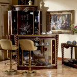 E26 bar set Bar Table 54.7*19.6*43.3Bar Cabinet closed 31.4*31.4*82.2bar cabinet open43.3Lx43.3Wx82.2HBar Chair 17.7*41.7