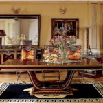 E26 dining room  Long Dining Table  94.4*47.2*30.7 Dining Table 70.8*41.3*30.7