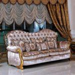 E61 3-seater sofa  98.03x41.33x46.85