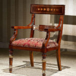 OP-720-1 Arm Chair          L24.8xW24.8H40.2