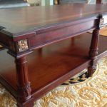 LV-632 Rectangular Coffee table Detail