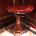 E68 small round table  25.59 x 25.59 x 26.77