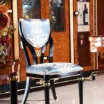 E69 dining chair  19.7x 22.8x 38.2