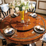 E69 round dining table  Details