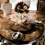 E-70-1 round dining table59.1 x 59.1 x 30.7