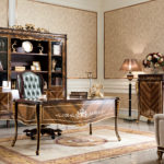 E70-1 study room Writing Desk: 66.8 x 32.3 x 30.7 4- Door Bookcase: 82.3 x 18.9 x 92.8 Executive Chair:28.3 x 33.5 x 51.6  5-Drawer Cabinet: 31.5 x 18.9 x 47.2