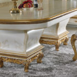 """E-67 Dining Table 98.43"""" L x 47.24"""" W x 30.71"""" H"""