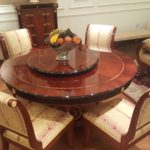 E-10 Round Dining table & chairs