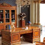 E62 Study  B   Writing Desk 78.74*39.37*30.70 / Bookcase  88.18 x 24.80 x 92.12 Executive Chair , 30.51 x 29.92 x 44.88