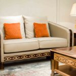 E72 2-seater sofa  65Wx38Dx39H