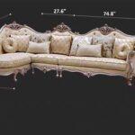 INFSG-670 Sofa Set Diagram