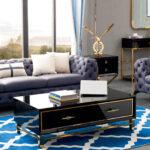 GD-1808  (2-seat sofa: 70.9x39.4x26.8) (3-seat sofa: 86.6x39.4x26.8) (Coffee Table: 51.2x27.6x18.9) (End Table: 23.6x17.7x29.5) (Console: 47.2x15.7x31.5)