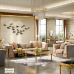 GD-1616 (Dining Table 78.7x39.4x30.7) (Dining Chair 18.9x19.7x43.3) (Console 59.1x17.7) (Mirror 35.4x23.6) (Coffee Table 39.4x39.4) (Tv Cabinet 78.7x17.7) (End Table 19.7x19.7)