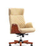 """HO-A046 High Back Chair 25.59""""Wx29.53""""Dx(47.24-49.61)H"""