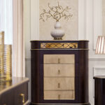 "E-71 5-drawer cabinet 37.40""W x 18.90""D x 46.26""H"