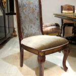"""E-63 Dining Chair  20.08""""W x 26.38""""D x 45.28""""H"""