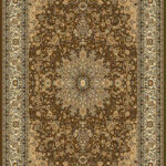 """RG-205 Brown Rug  Size 1: 9' x 11'6"""" Size 2: 7'10"""" x 10'7"""""""