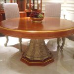 E66 round dining table