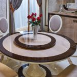 E75 round dining table