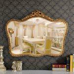 """FON-209G Framed Mirror 39.34"""" x 1.97"""" x 29.92"""