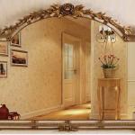 "FON-636 Framed Mirror 53.15"" x 2.17"" x 39.37"""