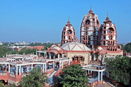 Biggest Hare Krishna ISKCON temple in Delhi