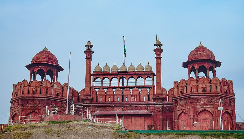 Red Fort (built by Mughal emperor Shah Jahan)