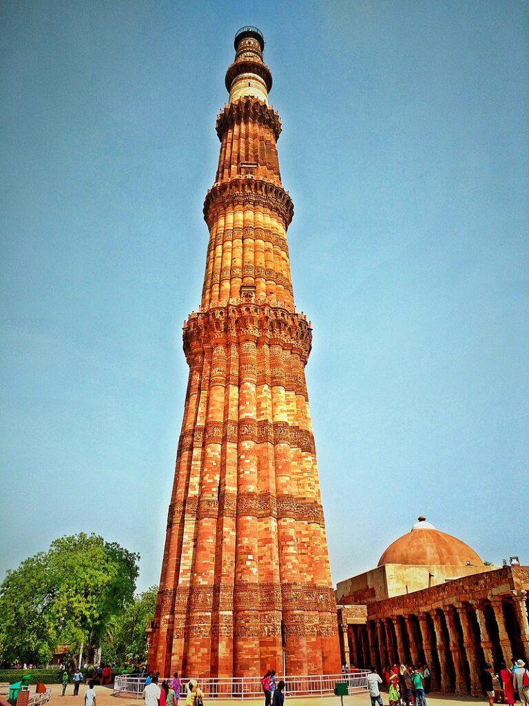 Qutub Minar (tallest tower in India)