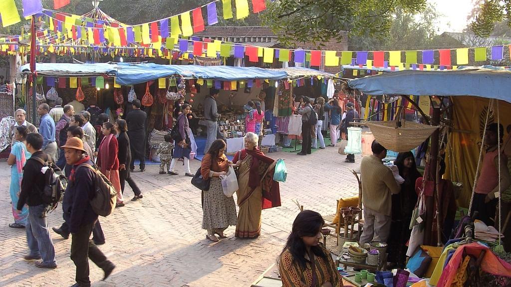 Dilli Haat INA craft market
