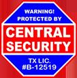 Local Austin Alarm Logo Central Security