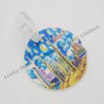 Souvenir PVC Luggage Tag Van Gogh Dubai Design