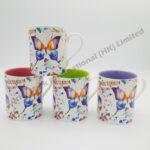 Butterfly Watercolor Mug