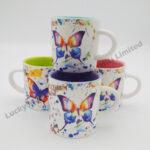 Butterfly Watercolor Mini Mug