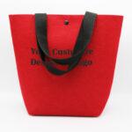 Custom Felt Tote Bag