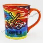 Tie Dye 14oz Color Mug (Customer Design)