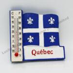 Polyresin Quebec Thermometer Magnet (Customer Design)