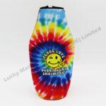 Tie Dye Neoprene Bottle Cooler (Customer Design)