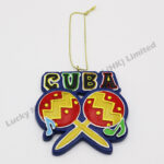 Polyresin CUBA Music Ornament