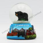 Polyresin 45mm Snow Globe Tennessee Black Bear