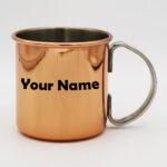 Stainless Steel Rose Gold Copper Mug