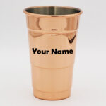 Stainless Steel Rose Gold Party Cup